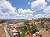 View of Trinidad, From Palacio Brunet Tower, Trinidad, Cuba, West Indies, Caribbean Photographic Print by Michael DeFreitas