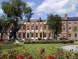 The Historic Georgian Park Square, Leeds, West Yorkshire, England, Uk Photographic Print by Peter Richardson