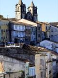 Pelourinho District, Salvador De Bahia, Brazil, South America Photographic Print by Olivier Goujon