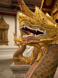 Wat Tung Yu, Chiang Mai, Chiang Mai Province, Thailand, Southeast Asia, Asia Photographic Print by Michael Snell