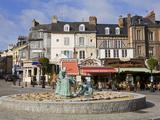 Sculpture By Jean Mare De Pas, Honfleur, Normandy, France, Europe Photographic Print by Richard Cummins