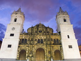 Cathedral, Historical Old Town, UNESCO World Heritage Site, Panama City, Panama, Central America Photographic Print by Christian Kober