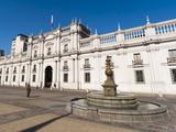 Palacio De La Moneda, Santiago, Chile, South America Photographic Print by Sergio Pitamitz