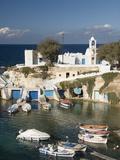 Village of Mandrakia, Island of Milos, Cyclades, Greek Islands, Greece, Europe Photographic Print by Richard Maschmeyer