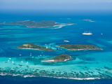 Tobago Cays and Mayreau Island, St. Vincent and the Grenadines, Windward Islands Reproduction photographique par Michael DeFreitas