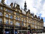 Facade of Leeds Markets, Leeds, West Yorkshire, England, Uk Photographic Print by Peter Richardson