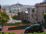 Lombard Street, the Crookedest Street in the World, San Francisco, California Photographic Print by Alan Copson