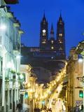 Gothic Basilica Del Voto Nacional, Old Town, UNESCO World Heritage Site, Quito, Ecuador Photographic Print by Christian Kober
