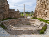 Roman Ruins of Salamis, Turkish Part of Cyprus, Cyprus, Europe Photographic Print by Michael Runkel