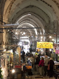 Marketplace in Covered Alleyway in the Arab Sector, Old City, Jerusalem, Israel, Middle East Photographic Print by Donald Nausbaum