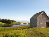 Old Farmhouse Near Lakeville, Prince Edward Island, Canada, North America Reproduction photographique par Michael DeFreitas