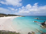 Horseshoe Bay Beach, Bermuda, Central America Photographie par Michael DeFreitas