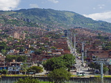 Metrocable Gondola, Medellin, Colombia, South America Photographic Print by Christian Kober