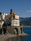 Atrani, Amalfi Coast, UNESCO World Heritage Site, Campania, Italy, Europe Photographic Print by Charles Bowman