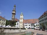 Main Square (Hlavne Namestie), Old Town, Bratislava, Slovakia, Europe Photographic Print by Jean Brooks