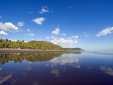 Beach at Playa Sihuapilapa, Pacific Coast, El Salvador, Central America Photographic Print by Christian Kober