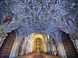 Interior of Santo Domingo Church, Oaxaca, Oaxaca State, Mexico, North America Photographic Print by Christian Kober