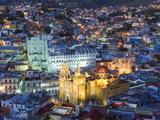Basilica De Nuestra Senora De Guanajuato, Guanajuato, Guanajuato State, Mexico Photographic Print by Christian Kober