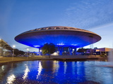 Evoluon Built in 1996, Exhibit on Science and Technology, Netherlands Photographic Print by Christian Kober