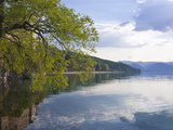 Lake Ohrid, UNESCO World Heritage Site, Macedonia, Europe Photographic Print by Michael Runkel