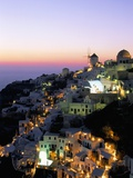 Oia (Ia), Island of Santorini (Thira), Cyclades Islands,Aegean, Greek Islands, Greece, Europe Photographic Print by Sergio Pitamitz