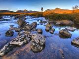 Rannoch Moor, Highlands, Scotland, Uk Photographic Print by David Wogan