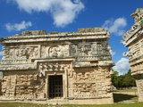 The Church in Ancient Mayan Ruins, Chichen Itza, UNESCO World Heritage Site, Yucatan, Mexico Photographic Print