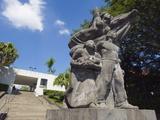 Statue at Museo De Arte De El Salvador, San Salvador, El Salvador, Central America Photographic Print by Christian Kober