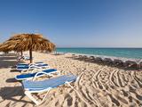 Beach at Cayo Santa Maria, Sol Cayo Santa Maria Resort, Cayo Santa Maria, Cuba Photographic Print by Michael DeFreitas