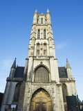 St. Baafskathedraal (St. Baafs Cathedral), Ghent, Flanders, Belgium, Europe Photographic Print by Christian Kober