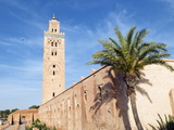 Minaret of the Koutoubia Mosque, UNESCO World Heritage Site, Marrakech, Morocco, North Africa Photographic Print by Nico Tondini