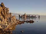 Early Morning Light on the Tufa Formations, Mono Lake, California, USA Photographic Print by James Hager