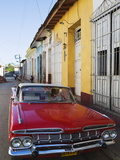 Chevrolet, Classic 1950S American Car, Trinidad, UNESCO World Heritage Site, Cuba Photographic Print by Christian Kober