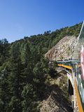 El Chepe Railway Journey Through Barranca Del Cobre (Copper Canyon), Chihuahua State, Mexico Photographic Print by Christian Kober