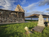 Churchyard, Achill Island, Off the Coast of County Mayo, Republic of Ireland, Europe Photographic Print by David Wogan
