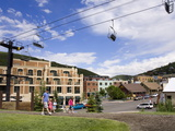 Ski Lift in Park City, Utah, United States of America, North America Photographic Print by Richard Cummins