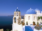 Oia (Ia), Island of Santorini (Thira), Cyclades Islands, Aegean, Greek Islands, Greece, Europe Photographic Print by Sergio Pitamitz