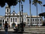 The 16 Do Novembro Square in the Pelourinho District, Salvador De Bahia, Brazil, South America Photographic Print by Olivier Goujon
