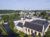 Neumunster Abbey, Old Town, Luxembourg City, Grand Duchy of Luxembourg, Europe Photographic Print by Christian Kober