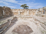 Roman Ruins of Salamis, Turkish Part of Cyprus, Cyprus, Europe Impressão fotográfica por Michael Runkel
