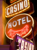 Neon Signs on Fremont Street, Las Vegas, Nevada, United States of America, North America Photographic Print by Richard Cummins