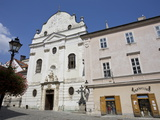 Franciscan Church, Old Town, Bratislava, Slovakia, Europe Photographic Print by Jean Brooks
