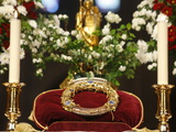 Crown of Thorns, Christ's Passion Relics at Notre Dame Cathedral, Paris, France, Europe Photographic Print