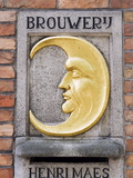 Henri Maes Belgian Beer, Brewery, Old Town, UNESCO World Heritage Site, Bruges, Belgium Photographic Print by Christian Kober