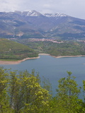 Artificial Lake in the Mavrovo National Park, Macedonia, Europe Photographic Print by Michael Runkel