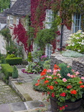Cottage on Chipping Steps, Tetbury Town, Gloucestershire, Cotswolds, England, United Kingdom Photographic Print by Richard Cummins