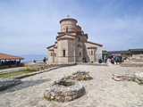 Orthodox Church, Ohrid By Lake Ohrid, UNESCO World Heritage Site, Macedonia, Europe Photographic Print by Michael Runkel