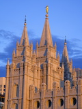 Mormon Temple on Temple Square, Salt Lake City, Utah, United States of America, North America Photographic Print by Richard Cummins