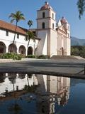 Santa Barbara Mission, Santa Barbara, California, USA Photographic Print by Michael DeFreitas