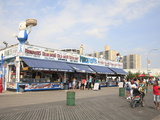 Boardwalk, Coney Island, Brooklyn, New York City, United States of America, North America Photographie par Wendy Connett